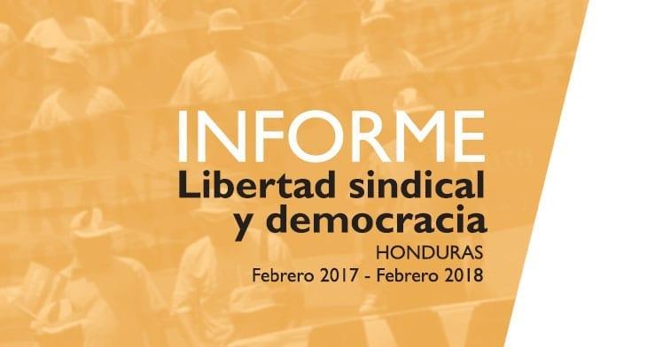 Honduras, Anti-Union Violence, human rights, unions
