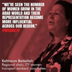 Tunisia, ITF global union, worker rights, Solidarity Center