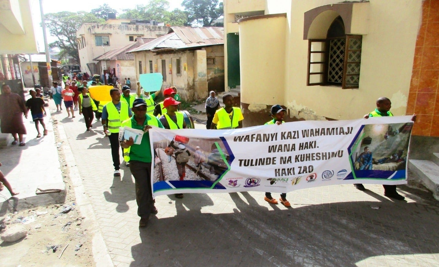 Solidarity Center, Kenya, Mombasa, domestic workers, migration, KUDHEIHA