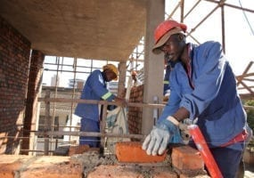 Zimbabwe, unions, Solidarity Center, construction workers