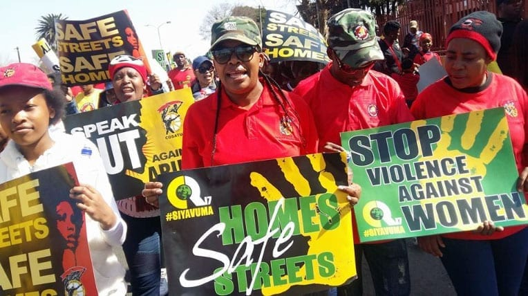 Union Leaders Mobilize on Gender-Based Violence at Work