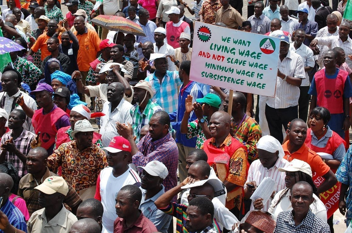 Nigerians Strike for a Fair Minimum Wage