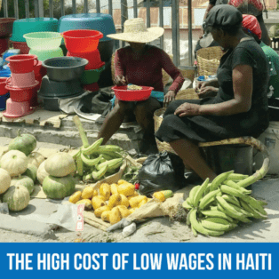 Haiti, cost of living, Solidarity Center
