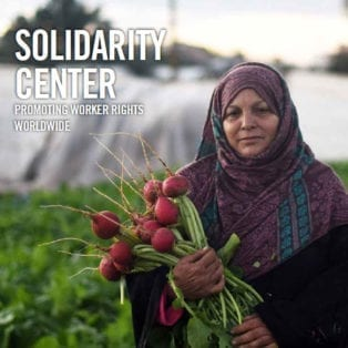 Solidarity Center Annual Report cover,2018, 2019, worker rights, unions