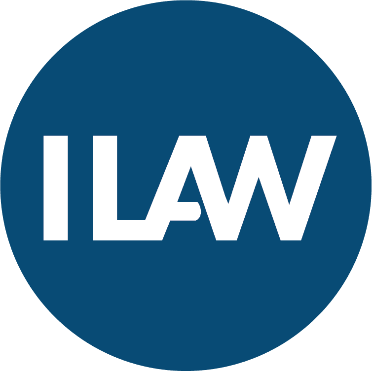 ILAW logo, worker rights lawyers, Solidarity Center
