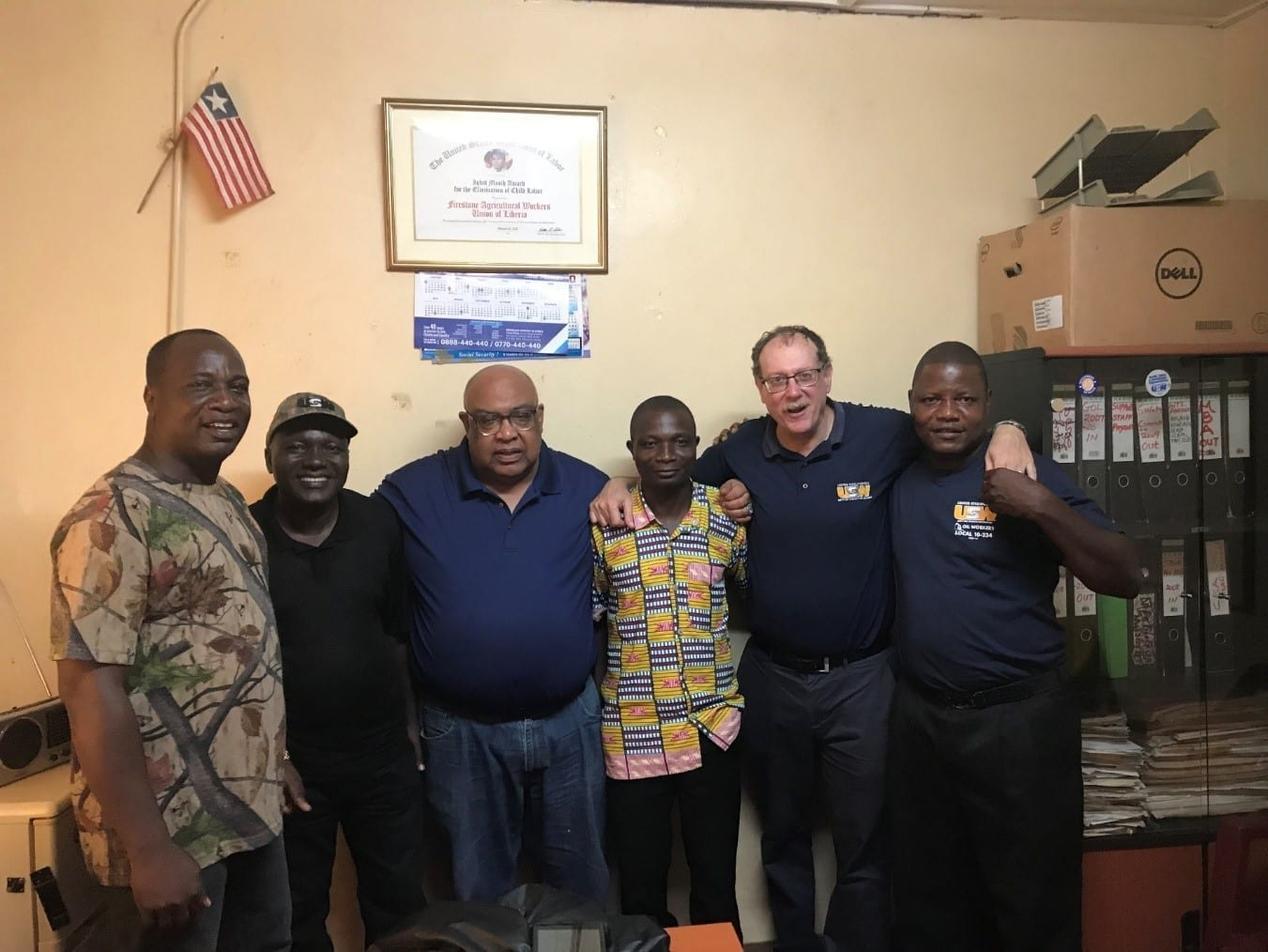 Liberia Workers Win Large Pay Raise