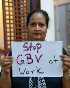 Dabindu, Sri Lanka, Solidarity Center, gender-based violence at work, unions, gender equality, garment workers