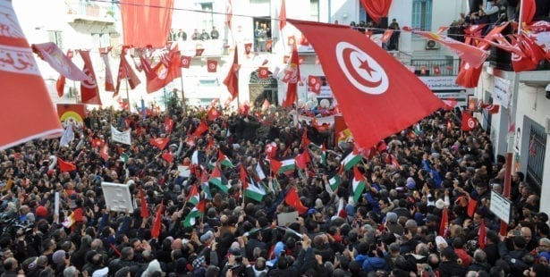 Tunisia, general strike, UGTT, unions, Solidarity Center