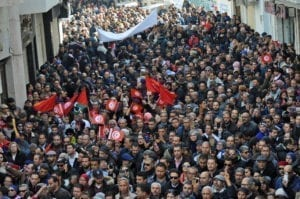 Tunisia, general strike, UGTT, wages, unions, Solidarity Center