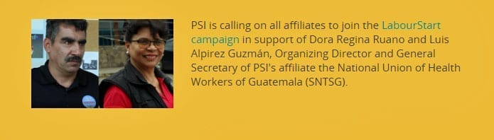 Two Union Leaders Targeted in Guatemala