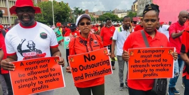 Worker rights, Solidarity Center, South Africa, COSATU