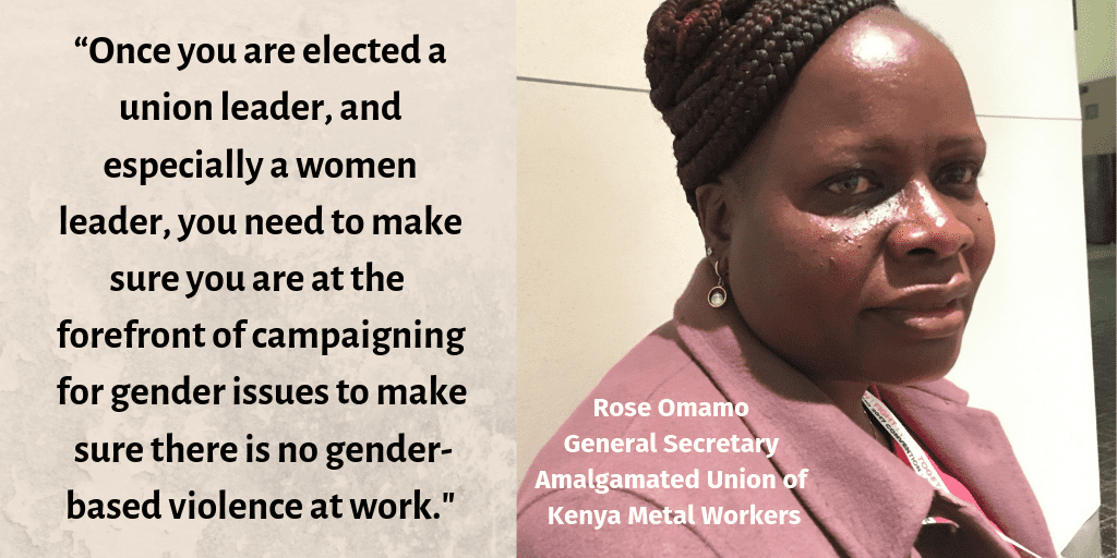 Women's Day: End Gender-Based Violence at Work