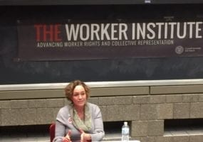 Shawna Bader-Blau, Solidarity Center, worker rights, labor rights, Cornell, Labor Leader in Residence