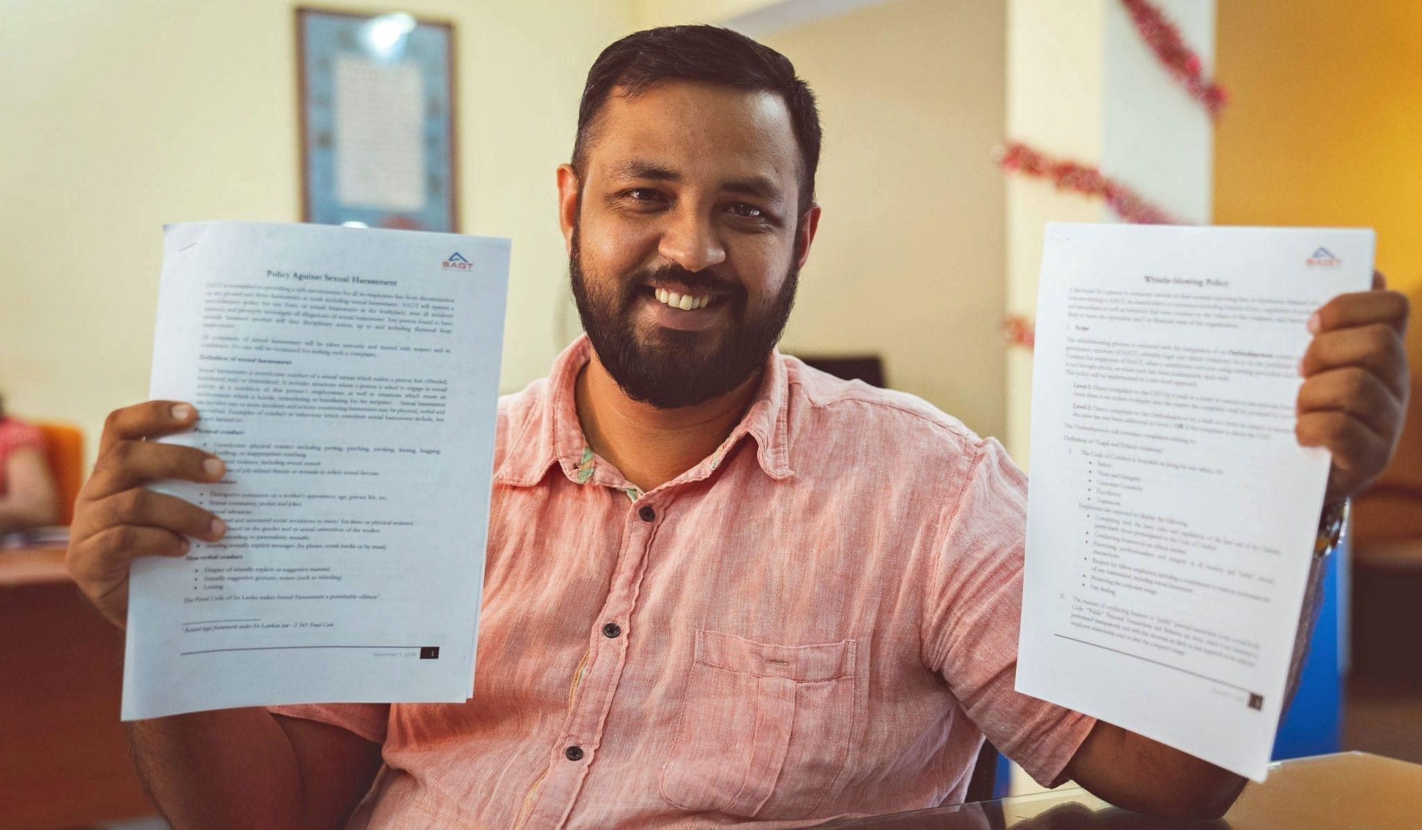 Sri Lanka, gender-based violence at work policy, worker rights, Solidarity Center