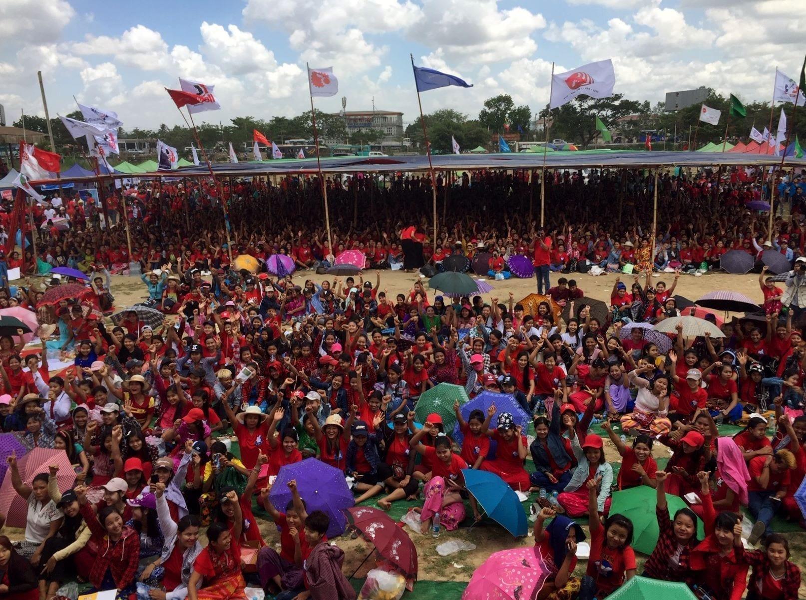 May Day 2019, Solidarity Center, Myanmar, Burma