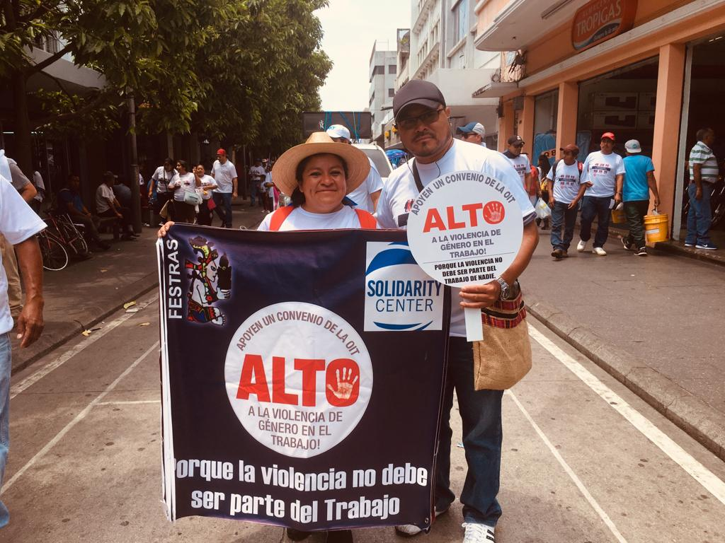Guatemala, Solidarity Center, May Day 2019