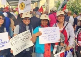 Jordan, domestic workers, trade union, Solidarity Center, May Day, worker rights