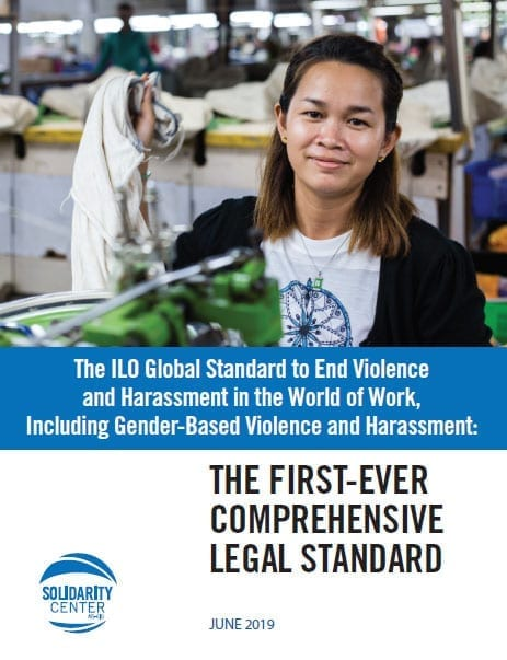 ILO GBV at Work Standard: First-Ever Comprehensive Legal Standard
