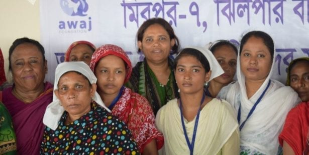 Bangladesh, Solidarity Center, worker rights, slum fire