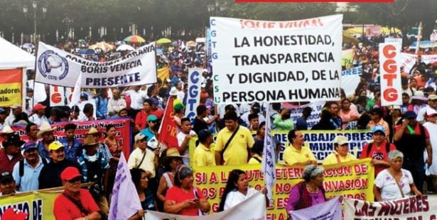 Guatemala, violence against union activists, Solidarity Center