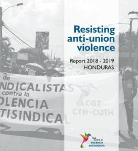 Honduras, anti-union violence report, Solidarity Center