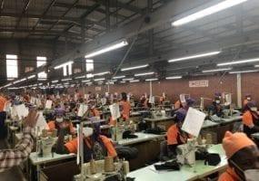 Lesotho, garment factories, Levis, Kontoor Brands, The Children's Place, Solidarity Center, gender-based violence,