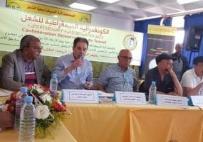 Morocco, CDT union discussing strike law, Solidarity Center