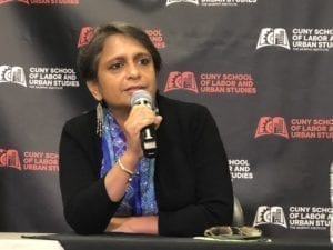 Gender, gender-based violence, Anannya Bhattacharjee, Asia Floor Wage, future of work, Solidarity Center