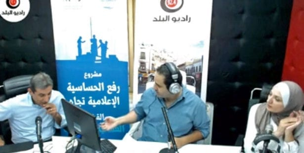 Jordan, worker radio show, Solidarity Center