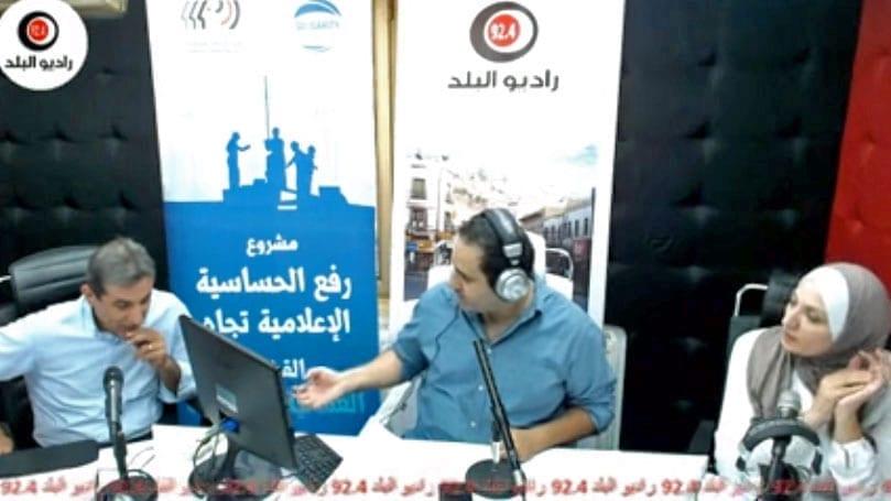 Jordan, worker radio show, Solidarity Center