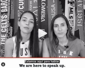 Colombia, Isabella Echeverri, Melissa Ortiz, women's soccer, gender discrimination, Solidarity Center