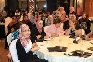 Palestine, gender-based violence meeting, ILO 190, Solidarity Center