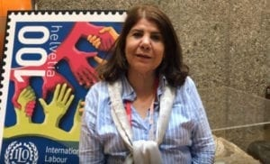 gender-based violence at work, ILO Convention 190, Touriya Lahrech, Morocco, Solidarity Center