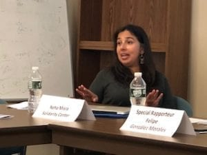 Neha Misra, Solidarity Center, migration, Freedoms on the Move report