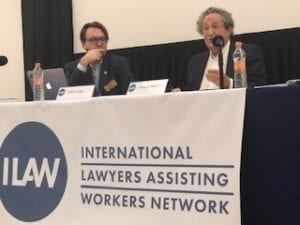 ILAW, Solidarity Center, Horacio Meguira, worker rights lawyers