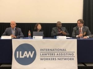 International Lawyers Assisting Workers network conference, Solidarity Center, worker rights