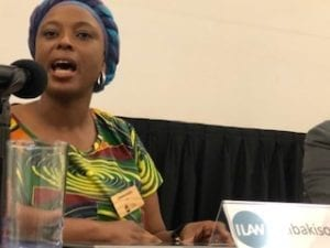 Lesotho, garment workers, ILAW conference, Solidarity Center