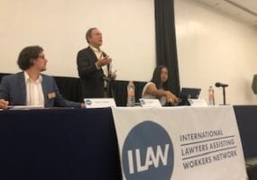 ILAW, Jon Hiatt, Solidarity Center, worker rights lawyers