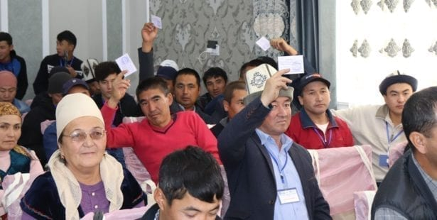 Solidarity Center, Kyrgyzstan, migrant workers, Russia, Germany, worker rights, human rights