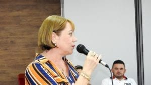 Francisca Trajan, president of Brazil garment worker union, Solidarity Center