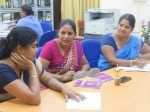Jaffna, Sri Lanka, gender-based violence at work training, Solidarity Center