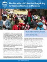 Morocco, farm workers, women, Solidarity Center, collective bargaining