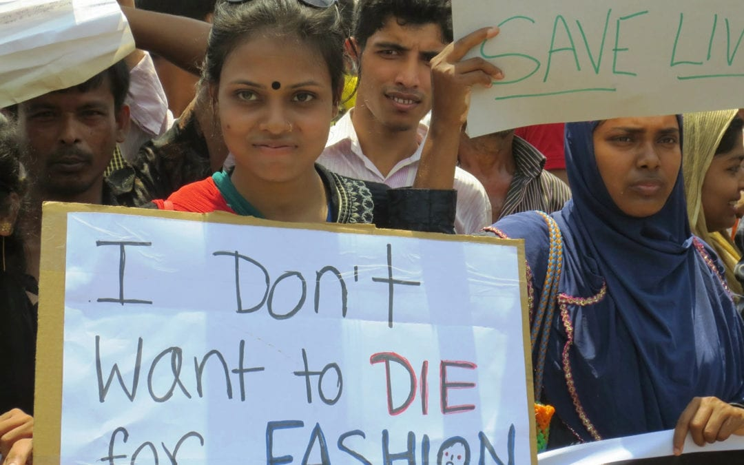Bangladesh, I dont want to die for fashion