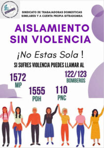 Guatemala, domestic violence in COVID-19, coronavirus, gender-based violence, worker rights, Solidarity Center