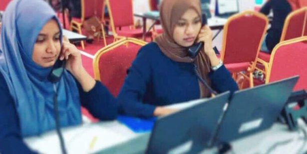 Maldives, health care workers respond to COVID-19, worker rights, Solidarity Center