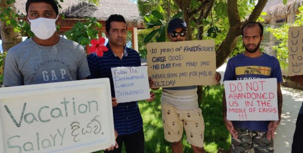 Maldives, tourism industry, workers laid off for COVID, worker rights, Solidarity Center
