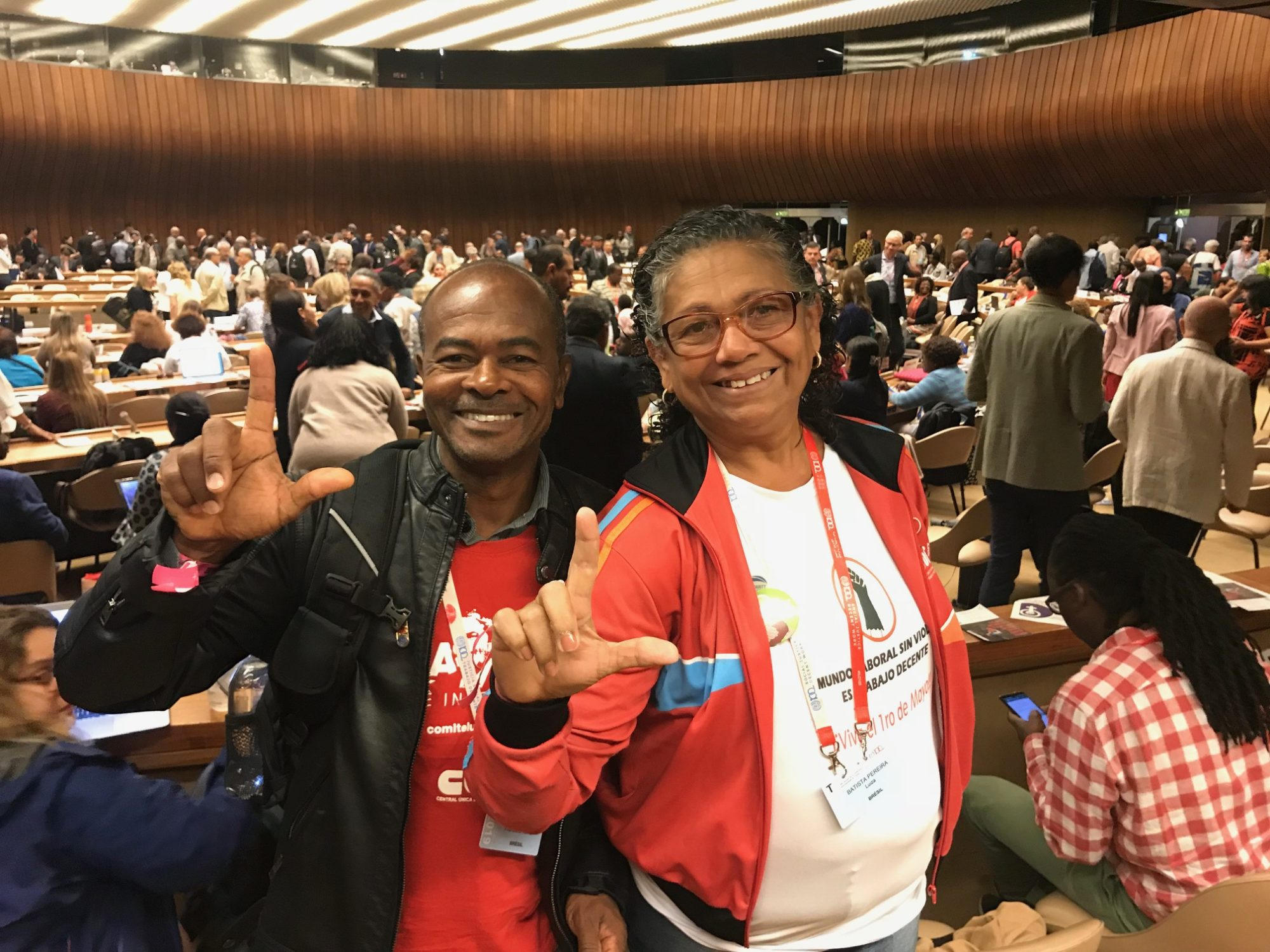 Brazil,, domestic workers, ILO Convention 190, worker rights, gender equality, Solidarity Center