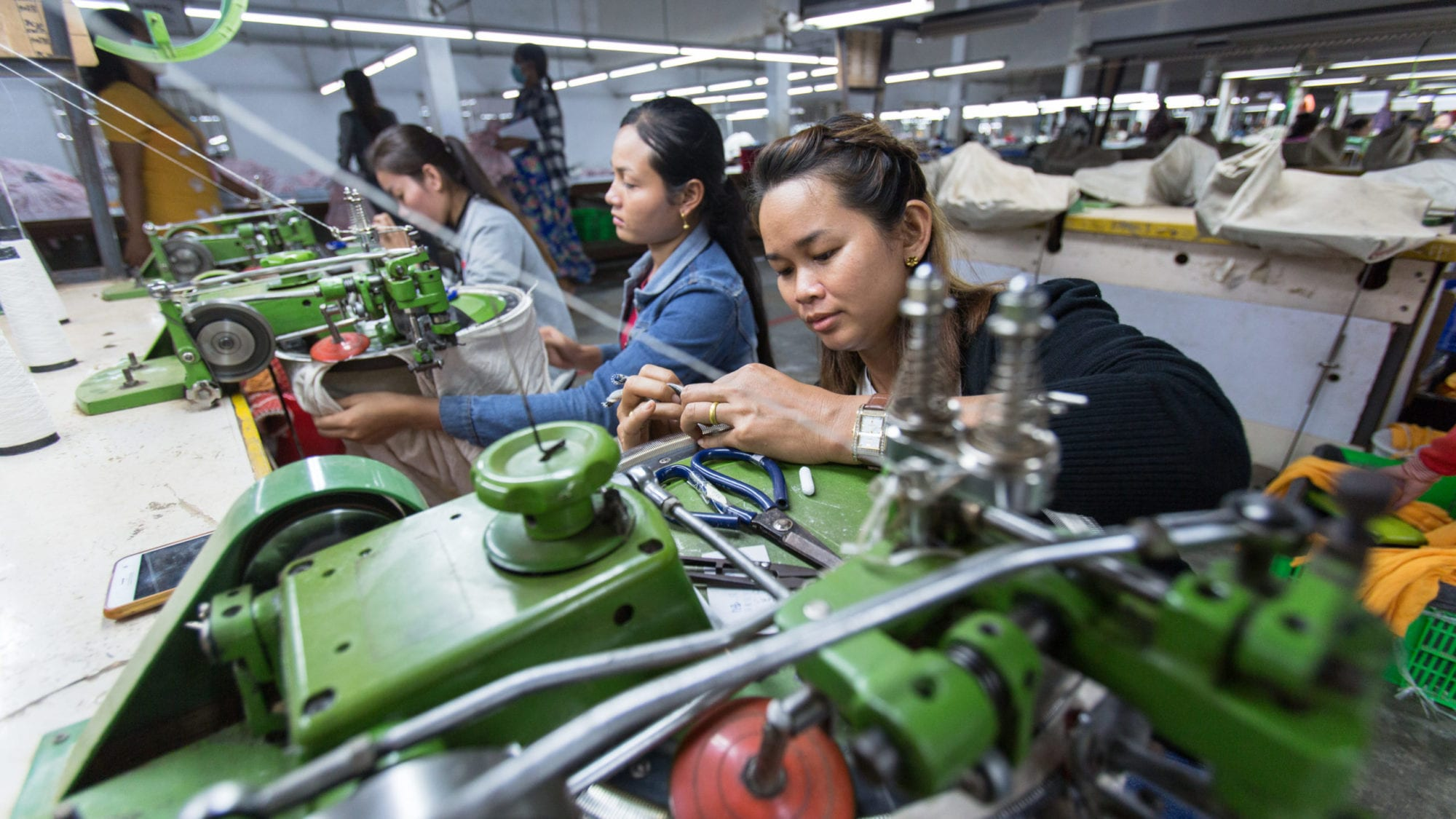 Cambodia, textile workers, worker rights, Solidarity Center