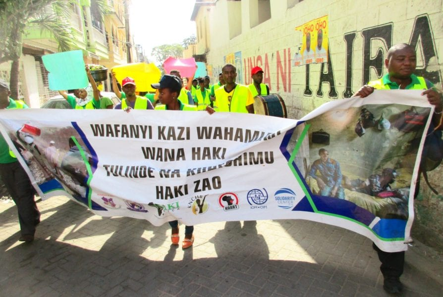 Kenya, migration, human trafficking, forced labor, worker rights, Solidarity Center