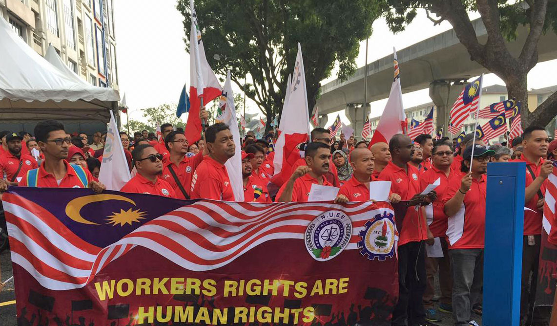 Malaysia, worker rights, Solidarity Center